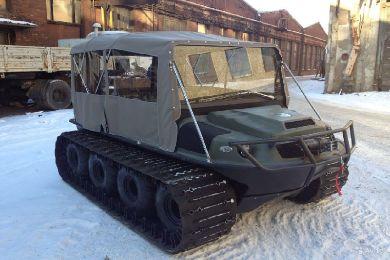 Вездеход Тигр 8х8-2 готов к зимней эксплуатации