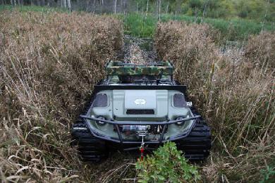 Вездеход Тигр в поле